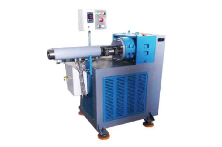 Worm machine 65×10 for processing silicone rubber