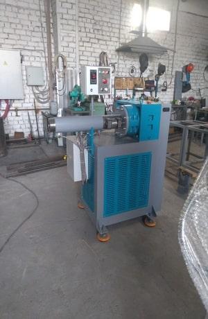 Червячная машина МЧ 65х10 для производства силиконовых изделий