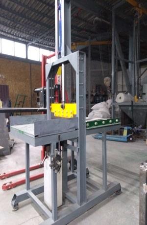 Гильотина для каучука и других вязких материалов