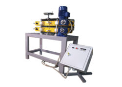 Тянущее устройство для линий экструзии 440х80 с лентой ПВХ