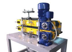 Тянущее устройство для линий экструзии 800х90 с лентой ПВХ